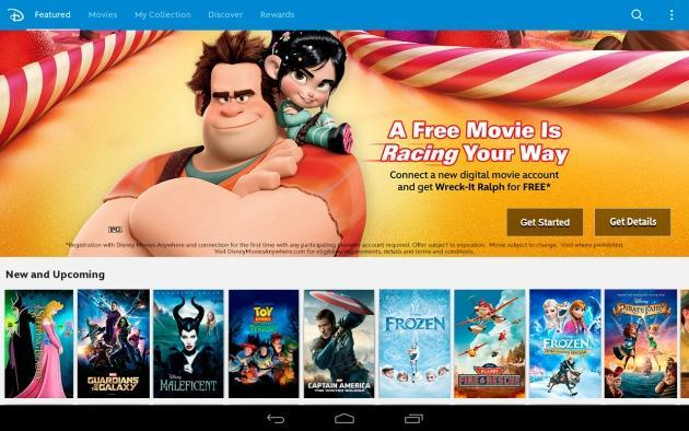 Disney Movies Anywhere service comes to Android with a link to Google Play