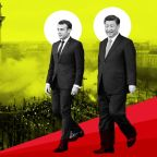 Emmanuel Macron rolls out the red carpet for Xi Jinping, but China could be playing a double game