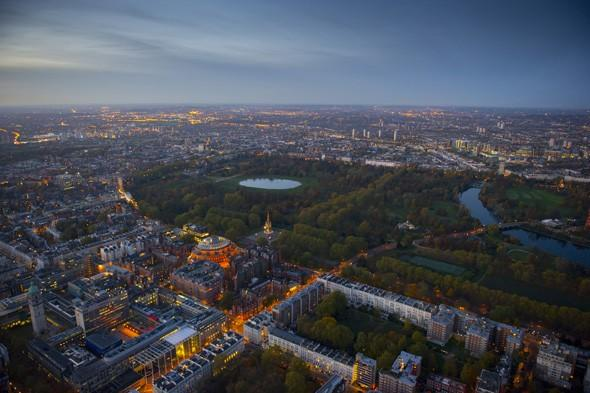 England's capital city came fifth with a total income tax bill of £8,580 per person.