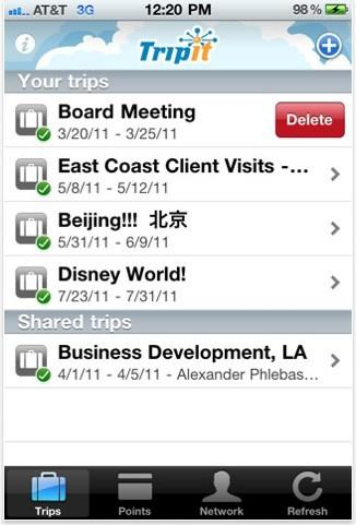 Tripit adds itinerary editing to iPhone app