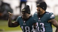 """Jalen Reagor and Travis Fulgham aren't worried about the Eagles' offense """"AT ALL"""""""