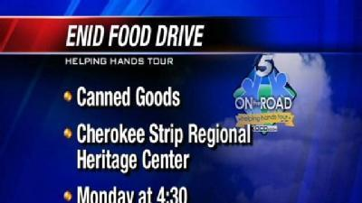 Enid Food Pantry Needs Canned Goods