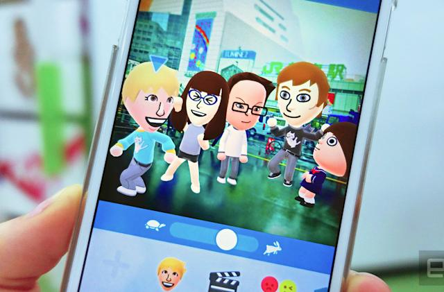 Nintendo's Miitomo app launches in the US on March 31