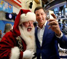 Today's surge in stocks kicks off the Santa Claus rally: NYSE trader