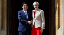 UK PM May meets Japan's Abe to discuss Brexit fallout