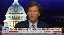 Tucker Carlson claims New York Times wants to 'injure' his family by exposing where he lives