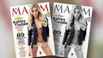 Ashley Tisdale Goes Topless in Maxim and Wants Bad Boys