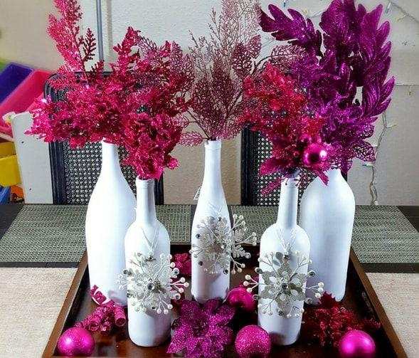 Stylish Diy Home Decor Ideas For All Your Empty Wine Bottles,Plants For Living Room Corner