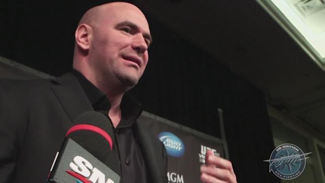Dana White UFC 160 post-fight scrum video