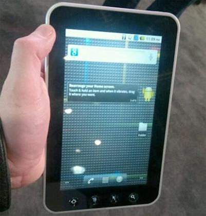 Mysterious 7-inch Viewsonic Android tablet breaks cover, reveals little