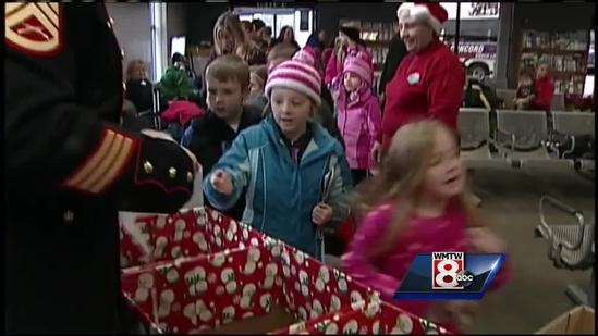 Toys for Tots gets boost from students