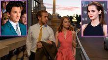 'La La Land' casi tuvo otra pareja protagonista formada por Emma Watson y Miles Teller