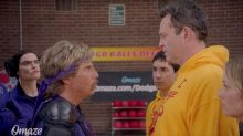 Ben Stiller Brings Back Vince Vaughn, Justin Long, and His Ex Christine Taylor for Hilarious 'Dodgeball' Video