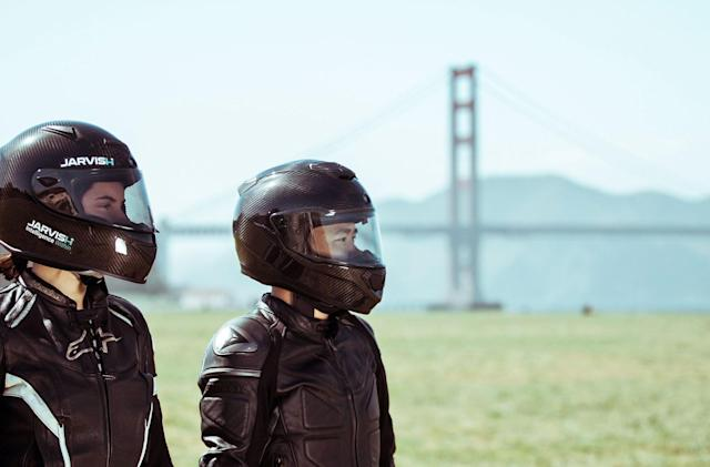 Jarvish's carbon fiber smart helmets put Alexa on your head