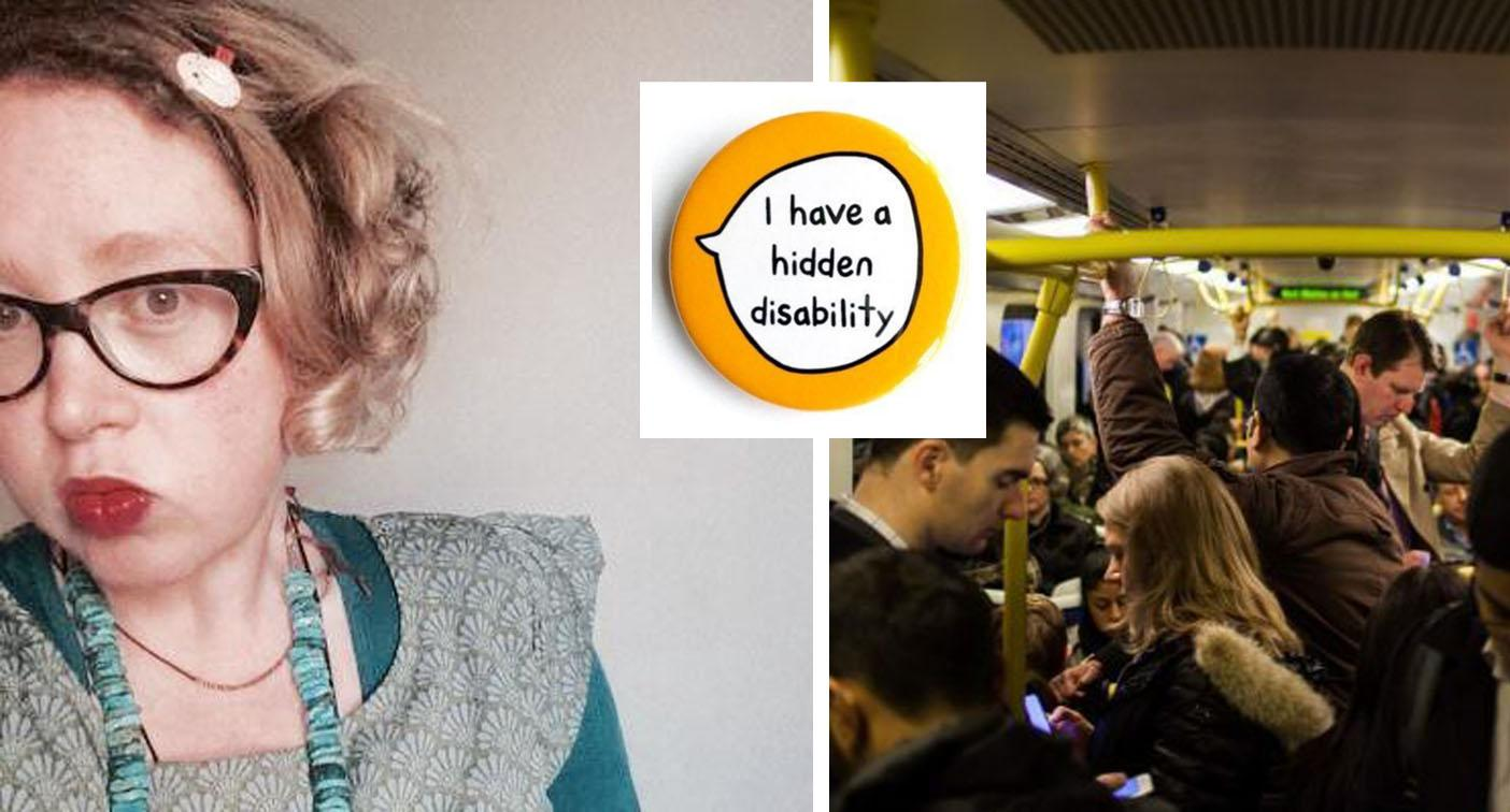 Woman's public transport struggle over her 'invisible' disability