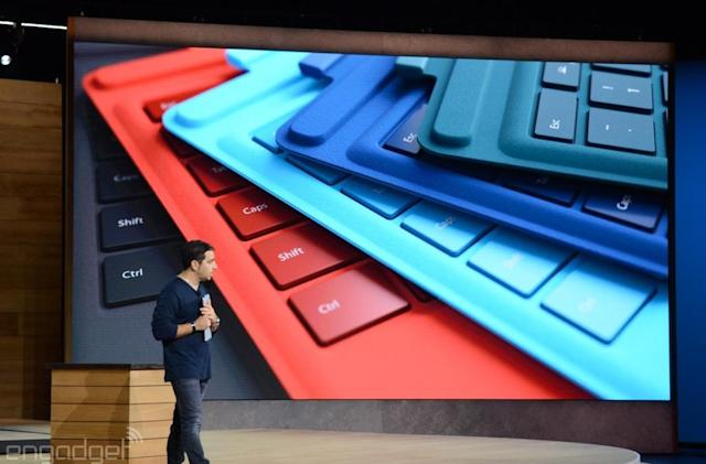 Microsoft's Surface Pro 4 type cover has 'laptop class' feel