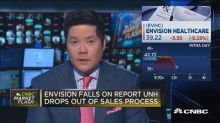Envision falls on United Healthcare reports