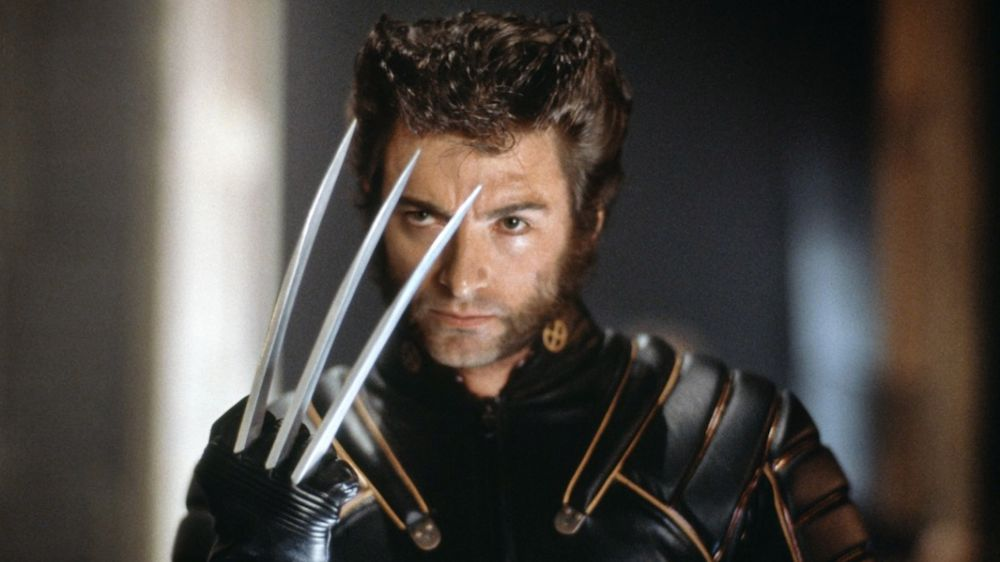 This is the first photo of Hugh Jackman as an ~aged~ Wolverine
