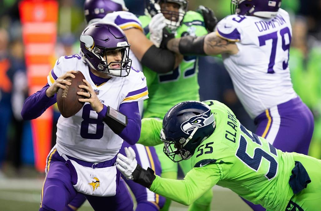 Controversy surrounds Seattle Seahawks' key FG block in victory over Minnesota Vikings