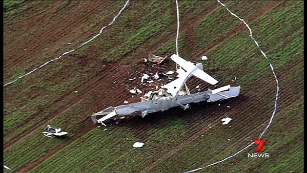Tributes to plane crash pilot