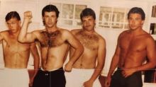 Alec Baldwin posts 'astonishing' shirtless throwback alongside famous brothers: Photo!