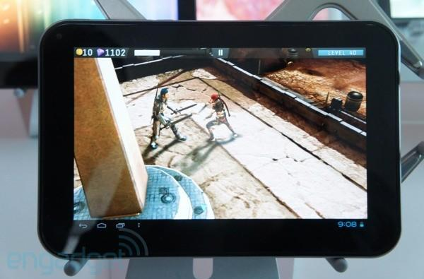 Toshiba pushes AT270 Tegra 3 tablet through the FCC, gets Excited