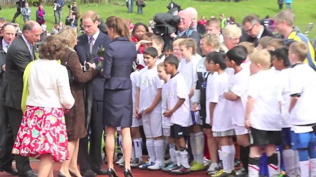 Duke of Cambridge: I Want Two Children With the Duchess