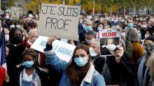 """Alcalde francés recibe amenaza de """"decapitación"""" una semana después de asesinato de profesor"""