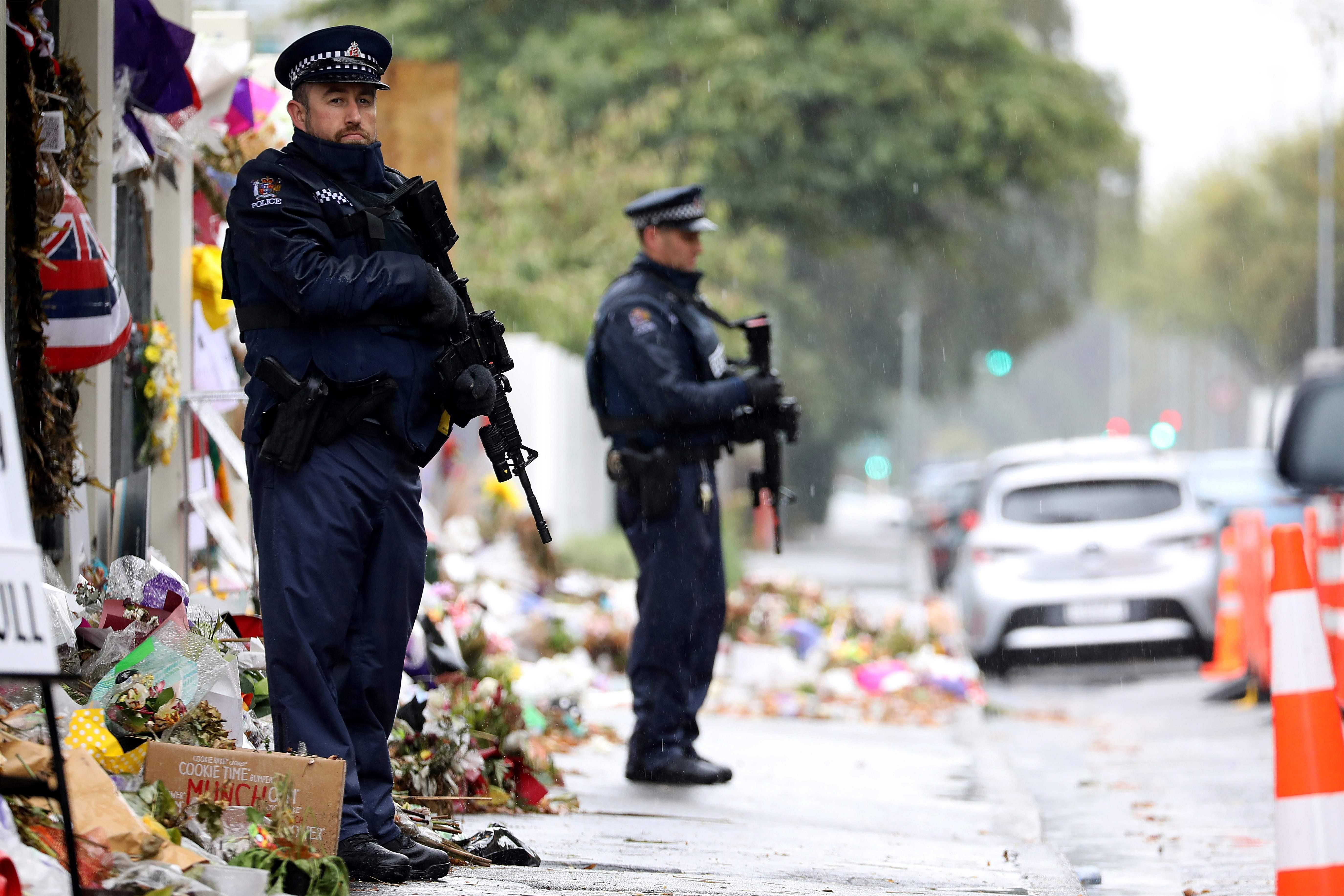 New Zealand mosque shootings: Six in court on charges they sent attack images