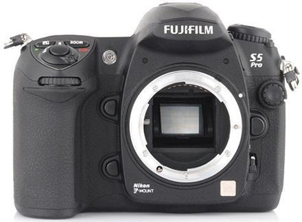 Fujifilm FinePix S5 Pro previewed, inspected
