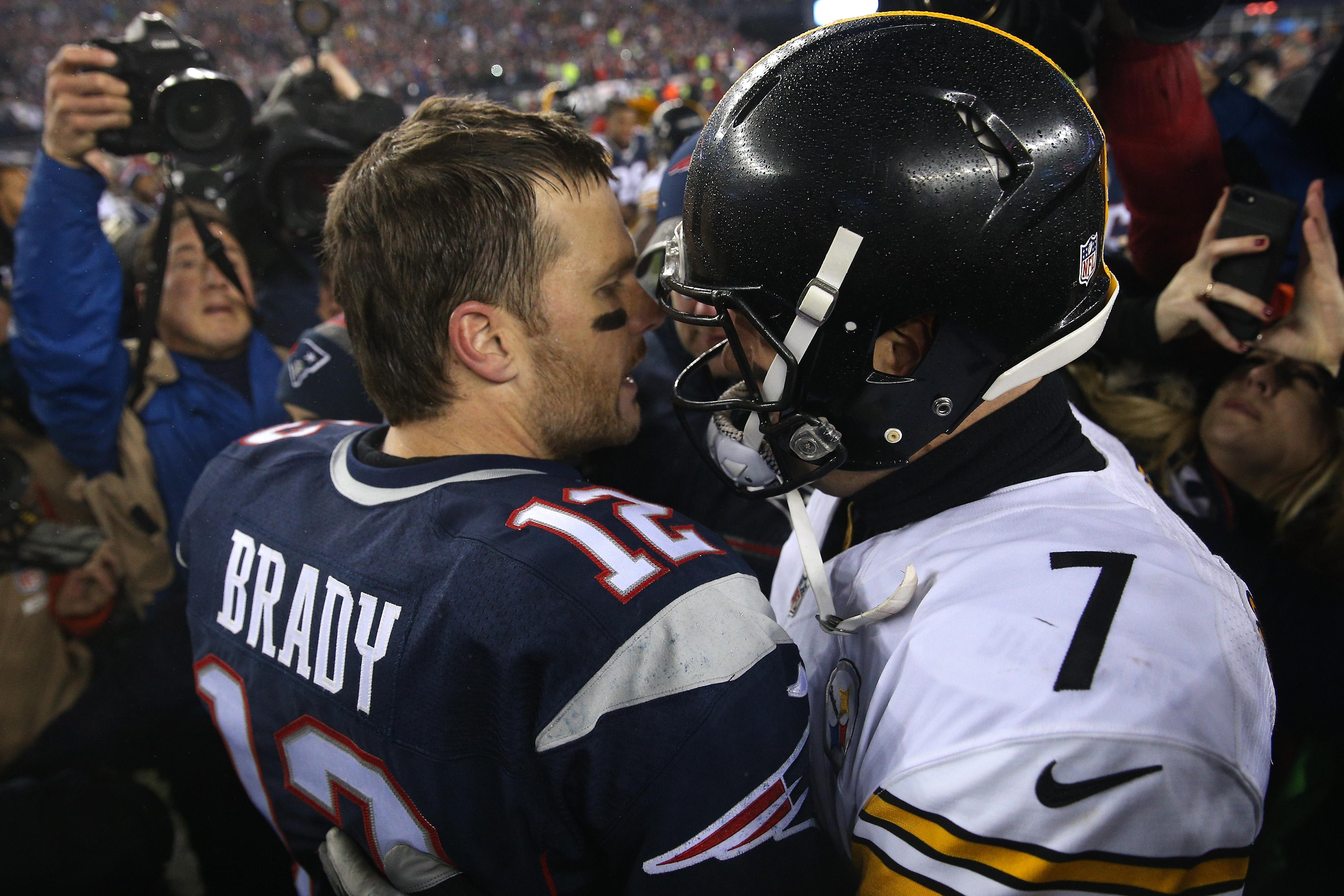 0f6df8432 Steelers head coach Mike Tomlin celebrates rivalry with Patriots