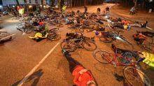 Schrecklicher Unfall: Dramatische Mahnwache für getöteten Radfahrer