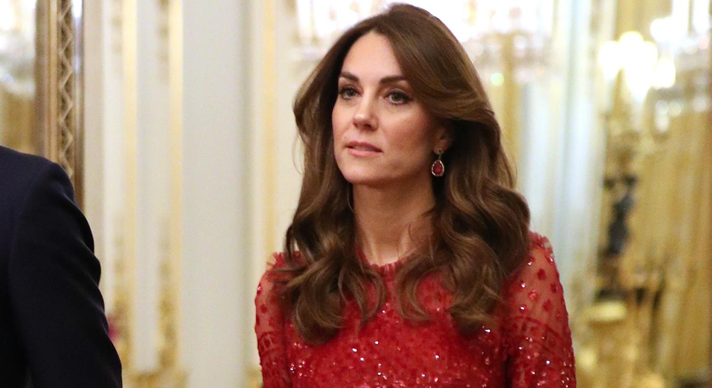 Duchess of Cambridge wears £410 Needle and Thread dress at Buckingham Palace - and it's still available to shop