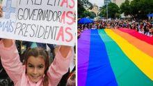 Estas iniciativas ajudam a conectar eleitores a candidatas mulheres e LGBTs nestas eleições
