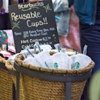 Starbucks brings back its reusable cups
