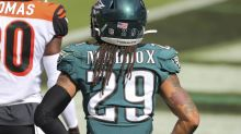 Avonte Maddox's role in Eagles defense, scouting Cowboys' Ben DiNucci, Fletcher Cox's pass rush stats and more