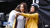 Megan Fox's Body Double Looks Like a Hollywood A-Lister