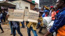 Elated Zimbabweans celebrate as Mugabe era fades