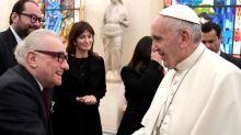 Pope Francis Welcomes Martin Scorsese to the Vatican