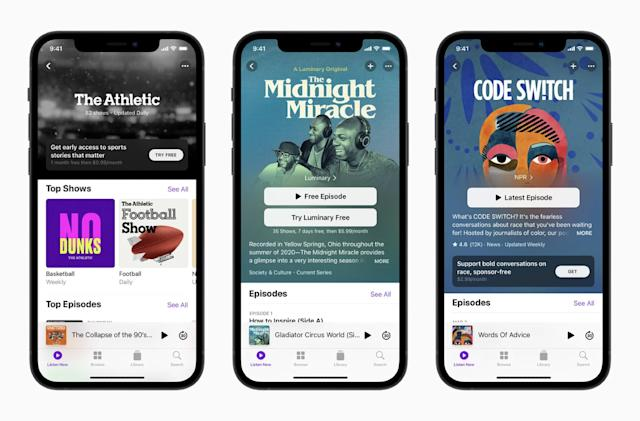 Apple will reportedly open paid Podcasts subscriptions on June 15th