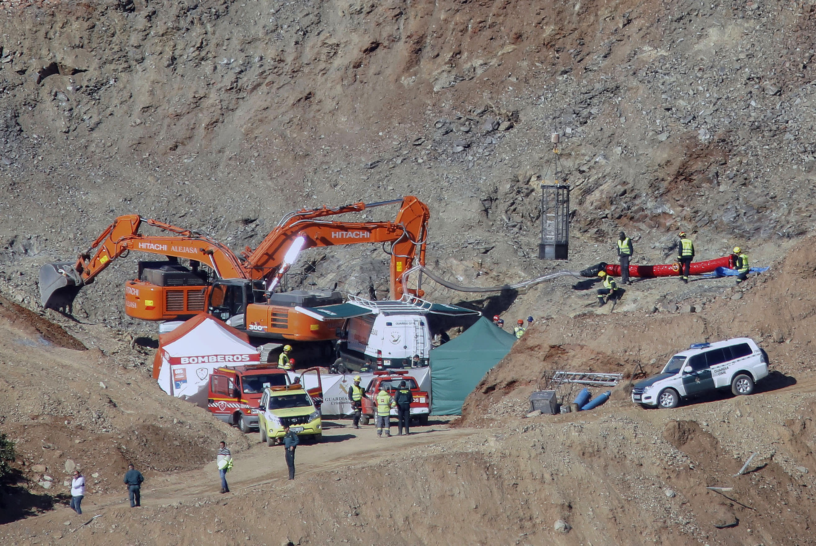 The Latest Rescuers Say Trapped Spanish Boy Found Dead