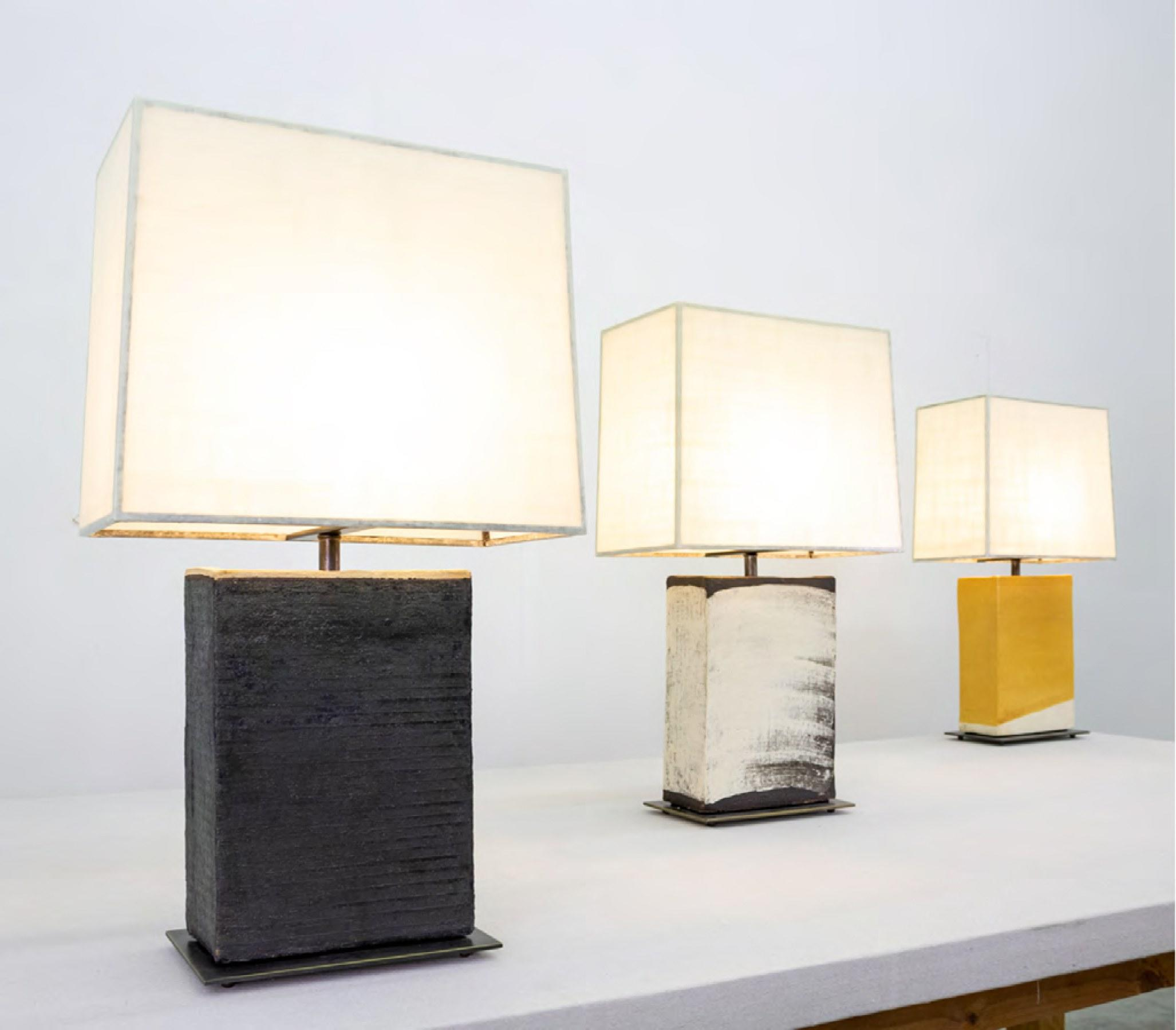 John Wigmore Unveils Ceramic Lighting Collection At Ralph Pucci