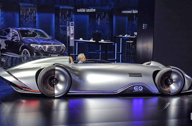 See the stylish and confusing vehicles from the Paris Auto Show