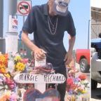 El Paso shooting widower, who invited public to wife's funeral, has SUV stolen, wrecked