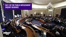 Impeachment Explained:Key takeaways from day 3 of public hearings
