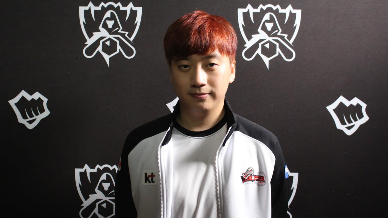 Kt打野選手Score正式宣布退役。圖:陳耀宗/攝