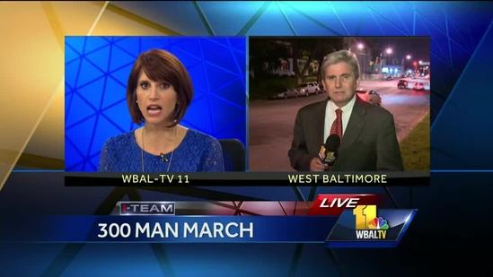 300 Man March aims to shut down crime in their communities