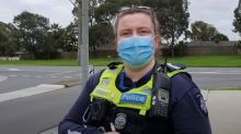 'Are people dying?': Melbourne man flat out refuses to wear face mask