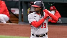 Washington Nationals' lineup for 2nd of 3 with St. Louis Cardinals