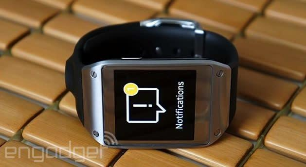 Samsung Galaxy Gear notification update reaches the US three weeks late
